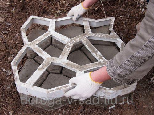 песок своими руками из форм